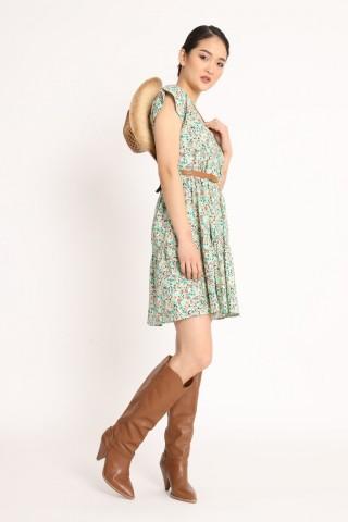 Φόρεμα floral 97% βαμβακερό