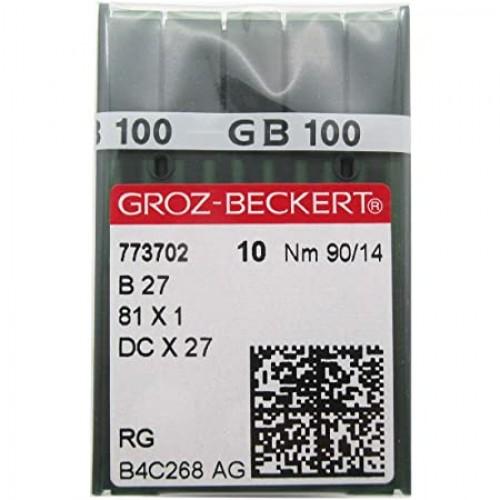 Βελόνες μηχανής Groz-Beckert Β27 κοπτοράπτης